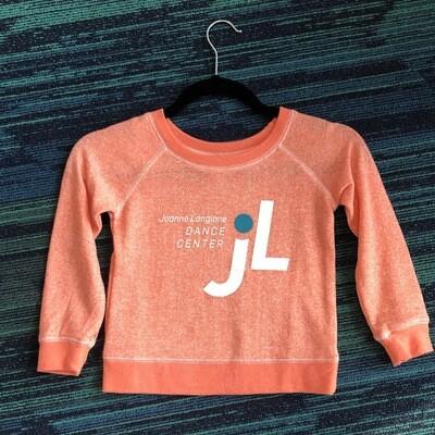 JLDC Scoop Neck Sweatshirt - Orange