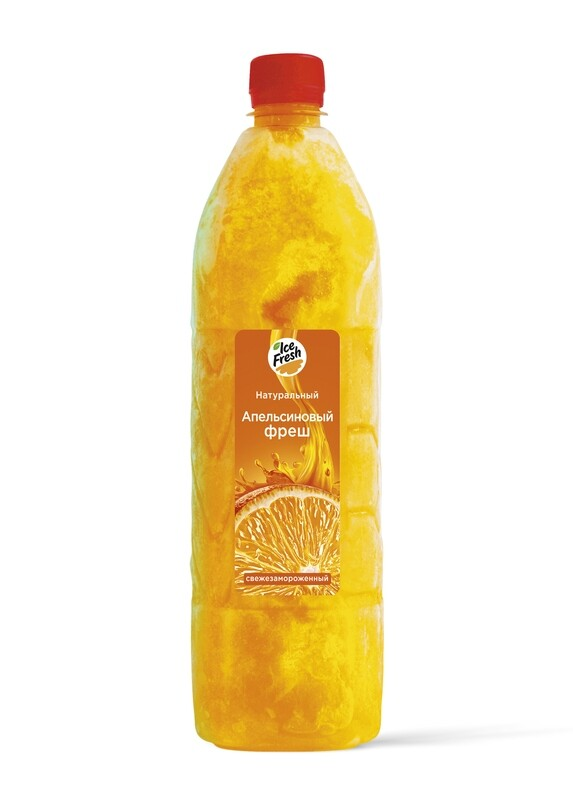 Сок апельсиновый прямого отжима 1 Л. (упаковка, 6 бутылок)