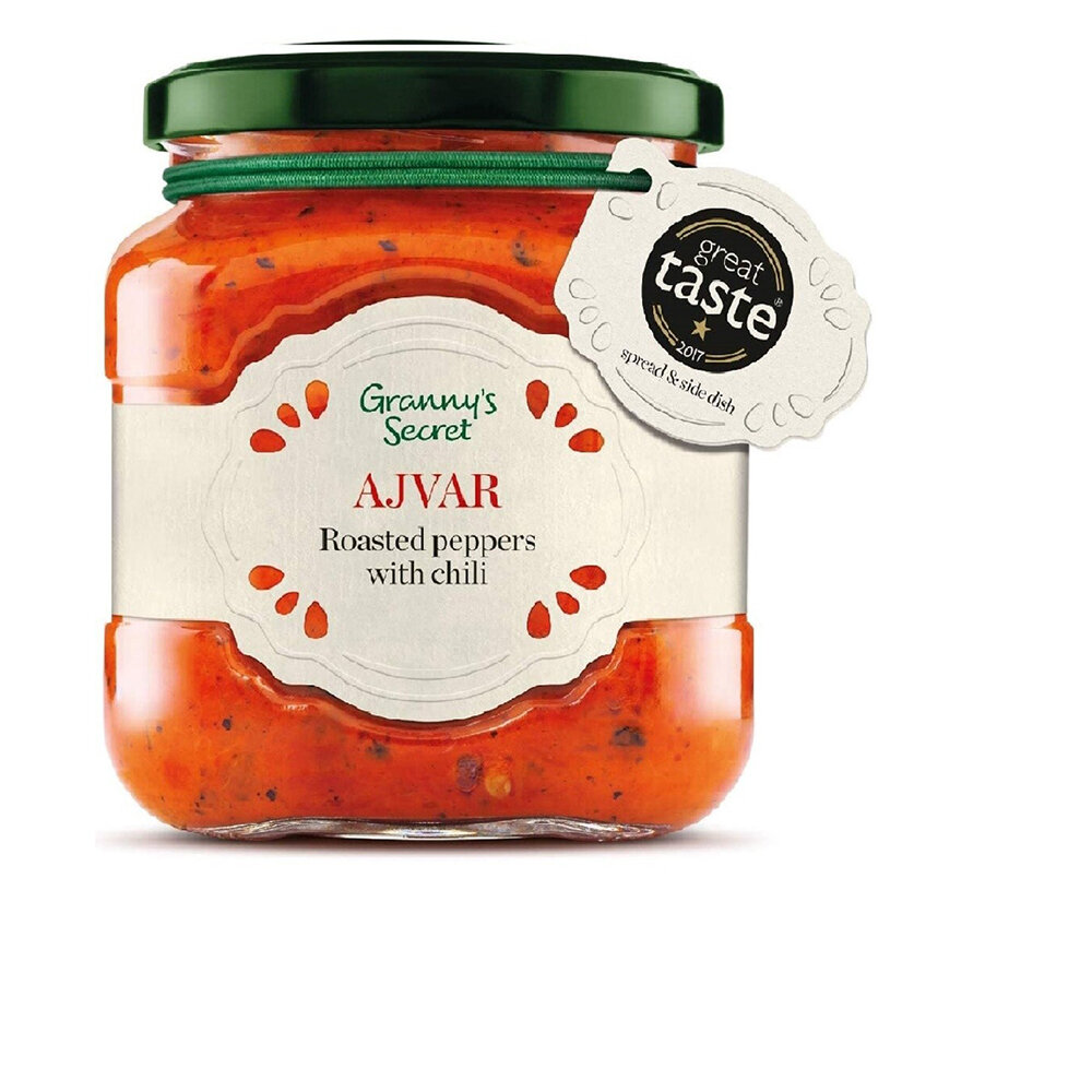 Ajvar Roasted Red Pepper with Chilli, 200g