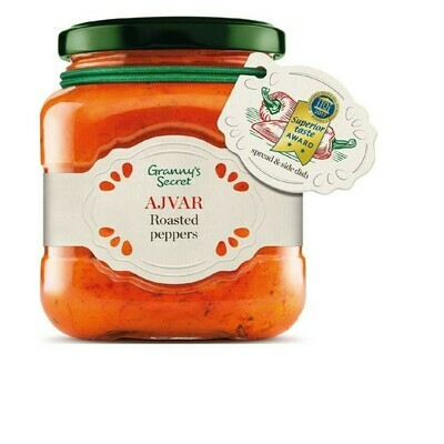 Ajvar Roasted Red Pepper Relish, 550g