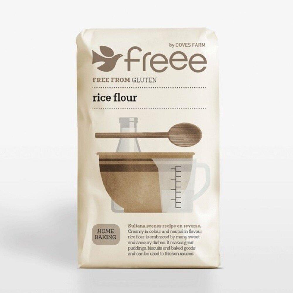 Freee by Doves Farm Gluten Free Rice Flour, 1kg