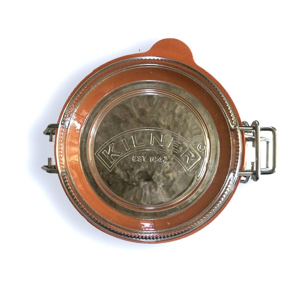 Organic Rye Sourdough Starter in a Kilner Jar