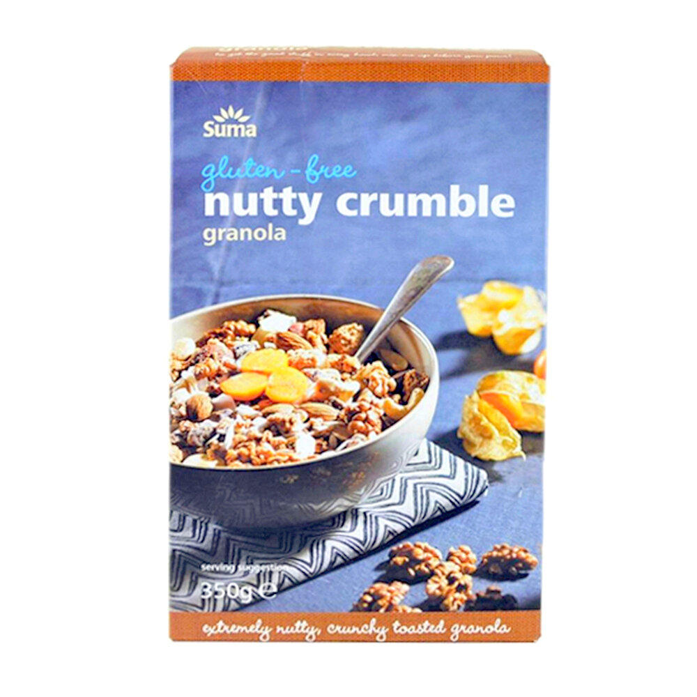 Suma Gluten Free Nutty Crumble Granola, 350g