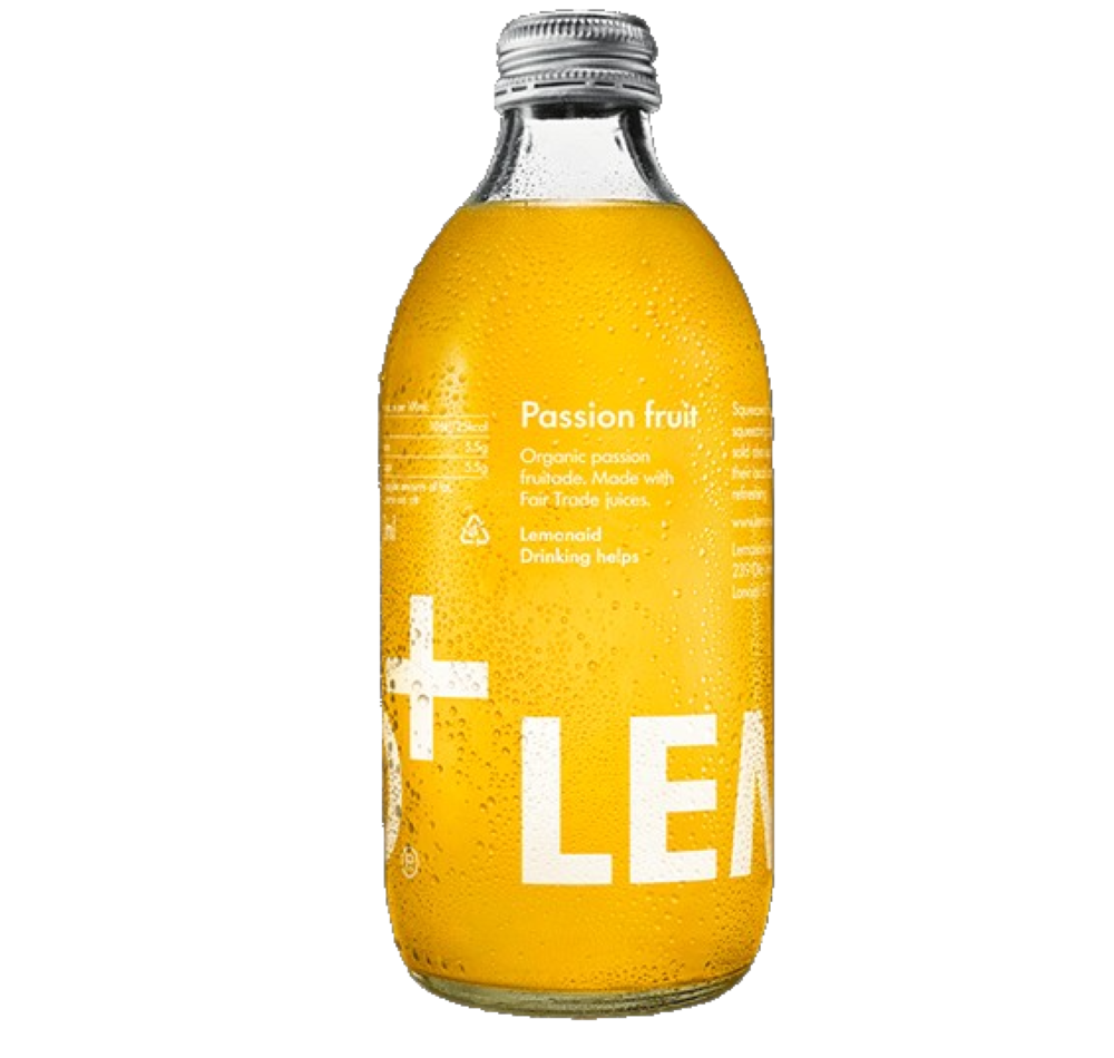 LemonAid - Passion Fruit Drink, 330ml