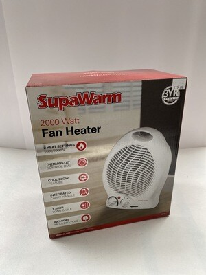 2000 Watt Fan heater