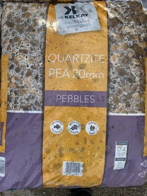 Kelkay Quartzite Pea 20mm