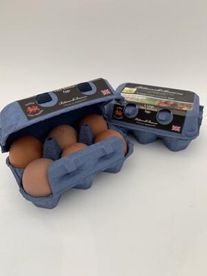 Fresh Free Range Eggs - A Dozen