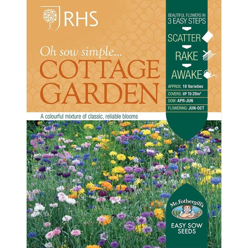 RHS Cottage Garden Seed Mix