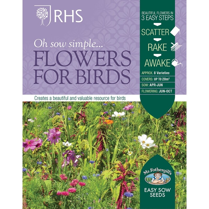 RHS Flowers for Birds Seed Mix