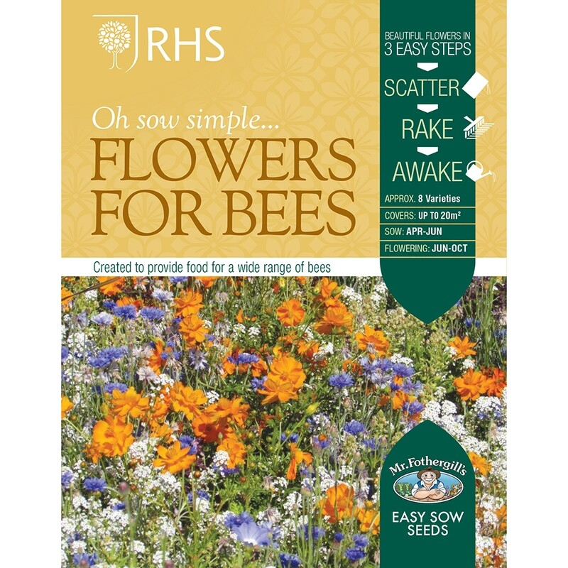 RHS Flowers for Bees Seed Mix