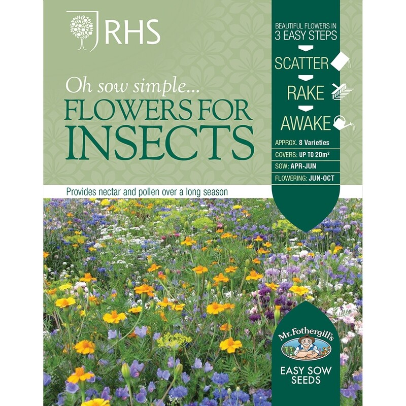 RHS Flowers for Insects Seed Mix
