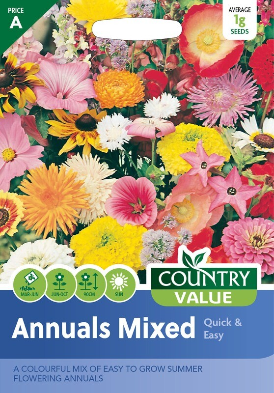 ANNUALS MIXED Quick & Easy