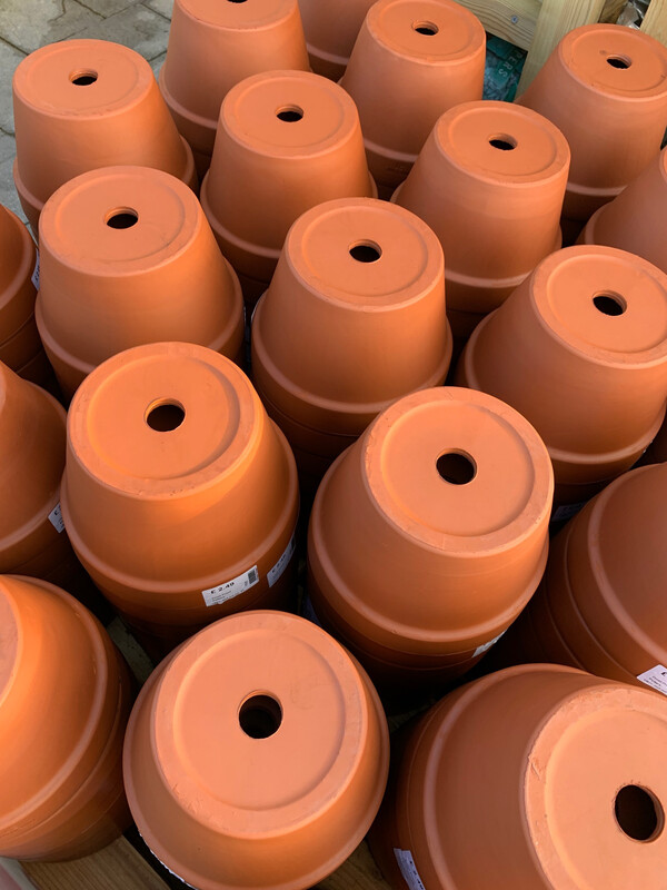 21cm Half Pot - Terracotta