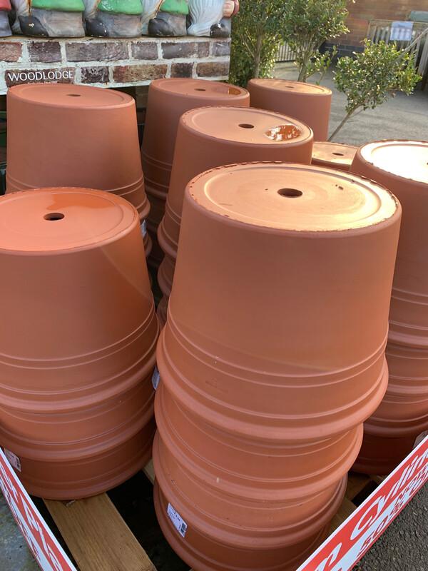 Cylinder Planter - Terracotta