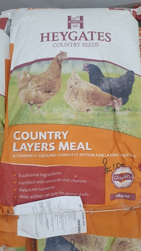 Heygate Layers Meal Chicken Feed