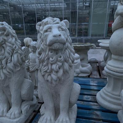 Stone Studio  Lion (Left)