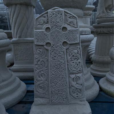 Stone Studio  Celtic Cross