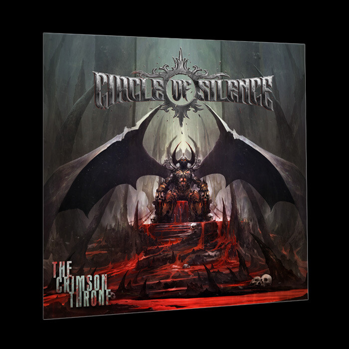 LP Gatefold Cover (Black) - The Crimson Throne