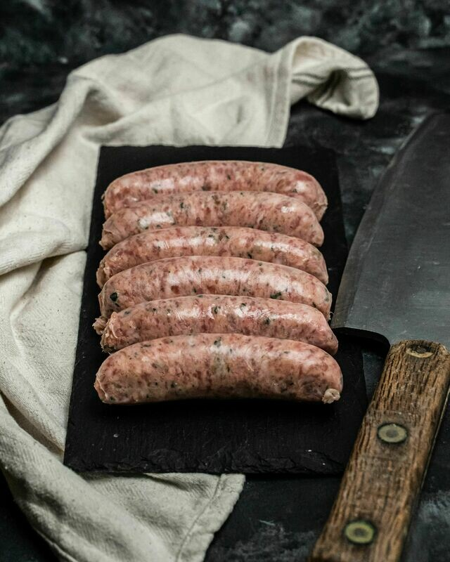 Linconshire Style Pork Sausages