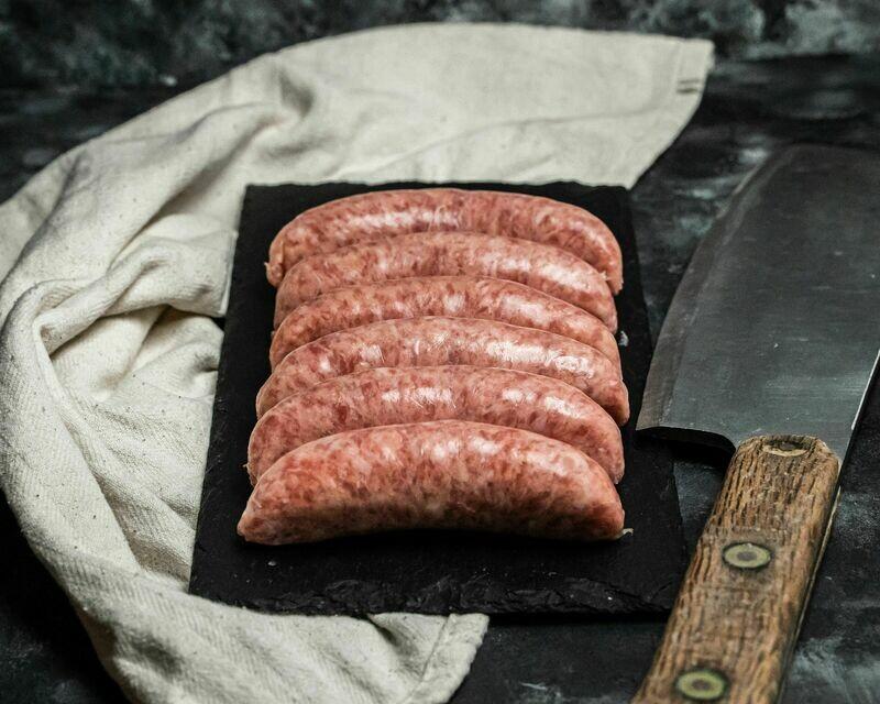 Pork & Apple Sausages
