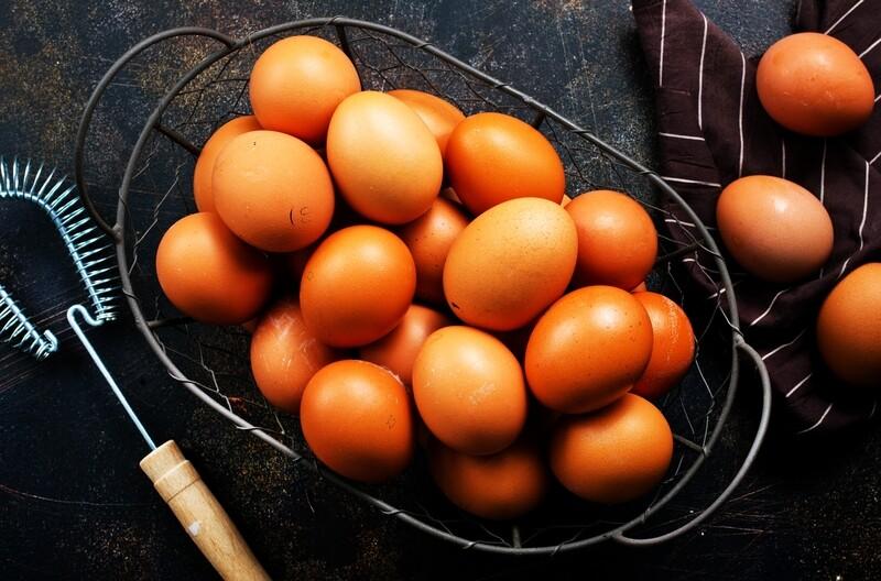18 Medium Free Range Eggs