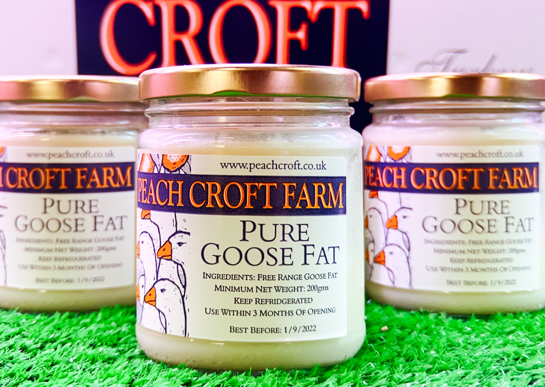 Peach Croft Farm Pure Goose Fat