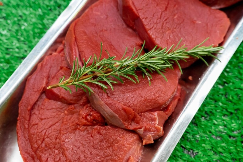 Highland game Scottish Venison Steaks