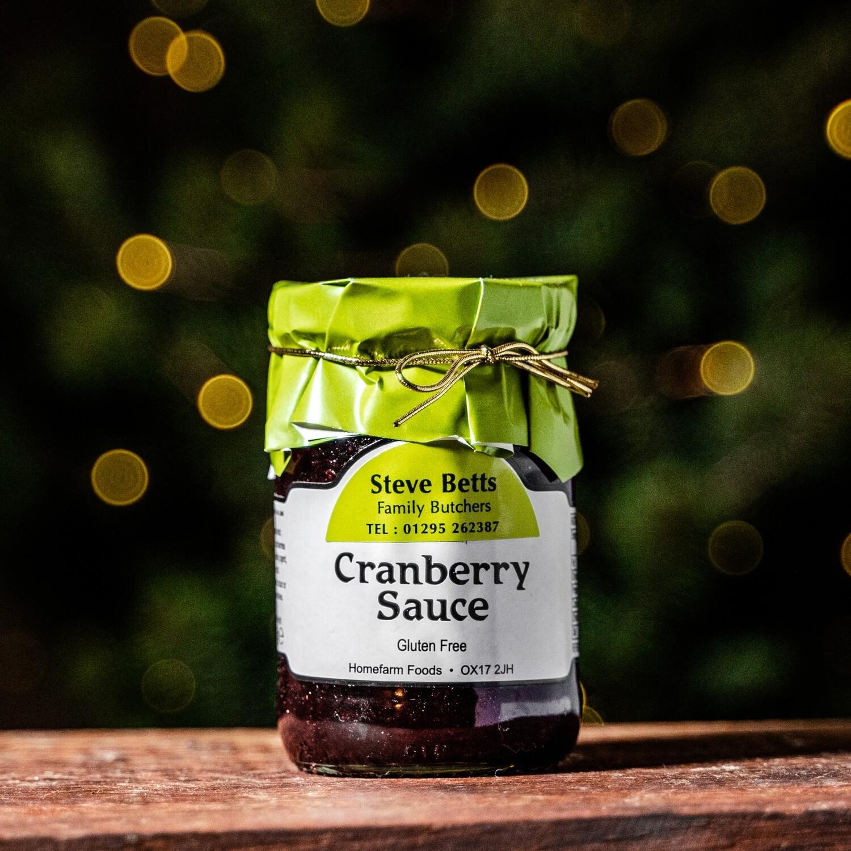Steve Betts Cranberry Sauce