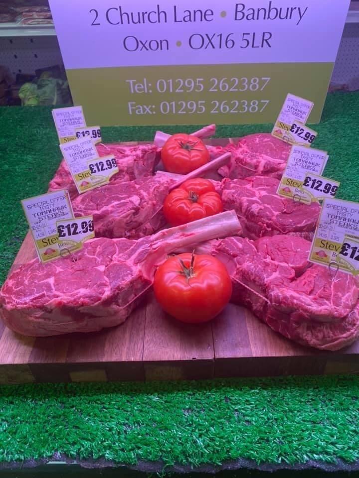 Tomahawk Steaks Saturday Special