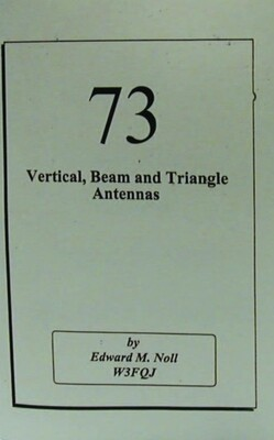 73 Vertical Beam and Triangle Antennas