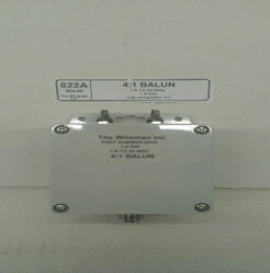 THE WIRE MAN 4:1CURRENT BALUN 1.8 -55MHZ 822A
