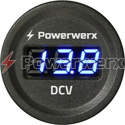 POWERWERX PANEL MOUNT VOLT METER