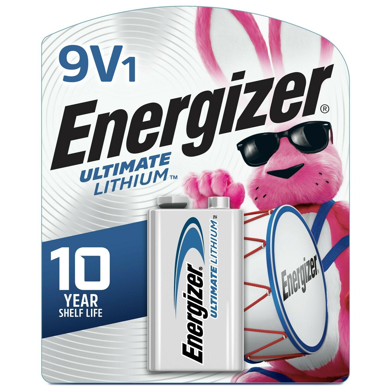 Energizer ULITMATE LITHIUM 9V