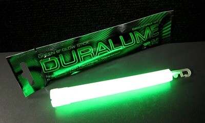 GLOW STICKS DURALUME GREEN