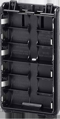 ICOM BP263 BATTERY CASE FOR V86