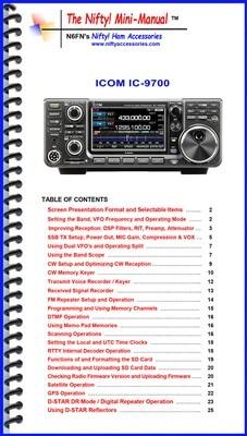NIFTY MANUAL ICOM IC-9700