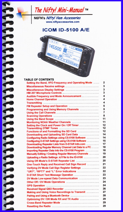 NIFTY MANUAL ICOM IC-5100A