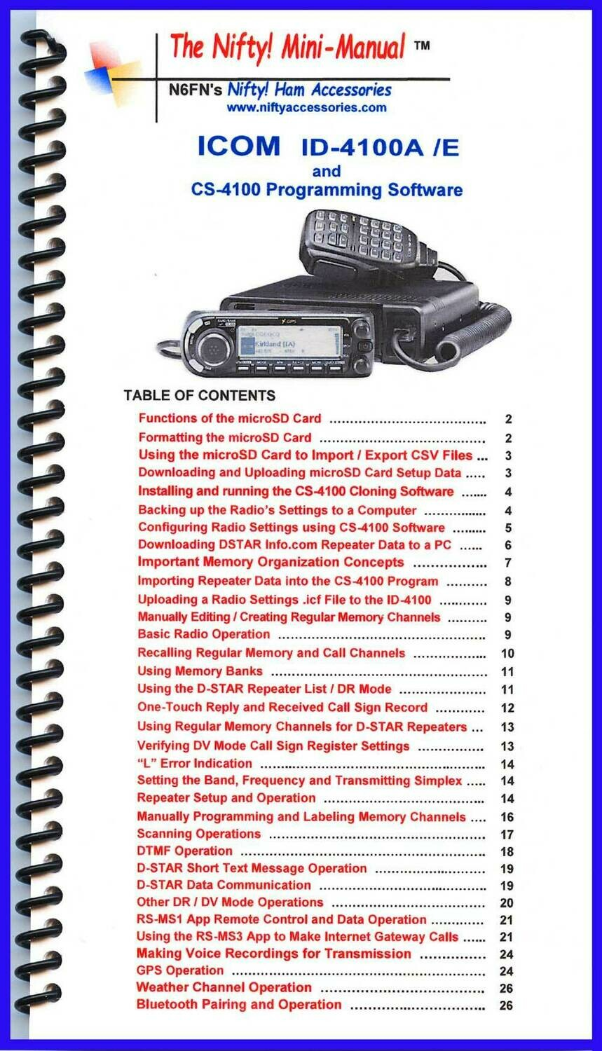 NIFTY MANUAL ICOM IC-4100A