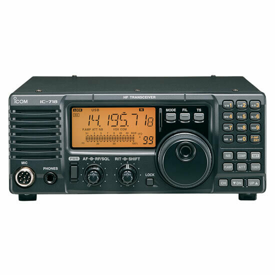 ICOM 718 HF RADIO WITH DSP