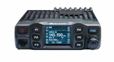 MIDLAND DBR2500 DUAL BAND HAM RADIO