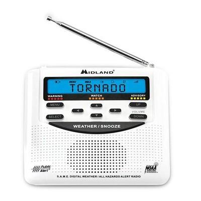 MIDLAND WR120 WEATHER RADIO
