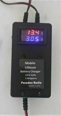 PARADAN MOBILE LITHIUM BATTERY CHARGER FOR BIOENNO BATTERIES
