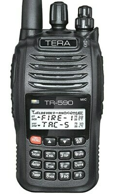 TERA TR-590 COMMERCIAL DUAL-BAND RADIO