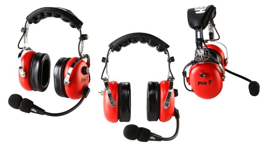 HEIL PRO7-RED ICOM W/AD-1-IC