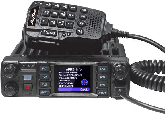 ANYTONE AT-D578UVIII PLUS DMR RADIO