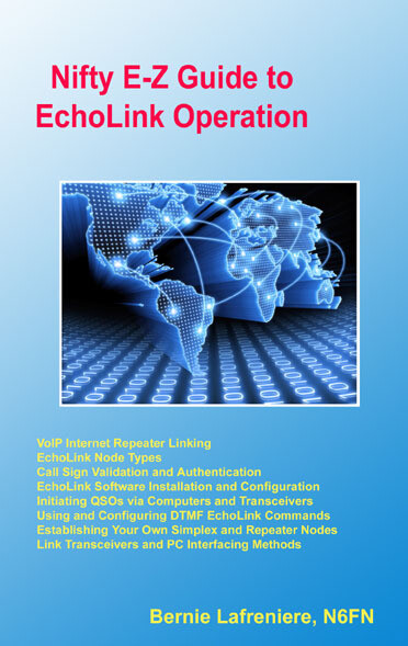 NIFTY E-Z GUIDE to ECHOLINK OPERATION