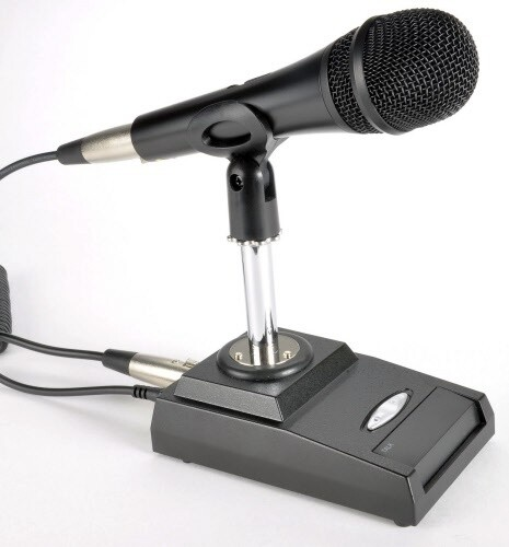 INRAD DMS-629 DESK MIC (PLEASE SPECIFY WHAT RADIO YOU WILL BE USING THIS UNIT WITH)