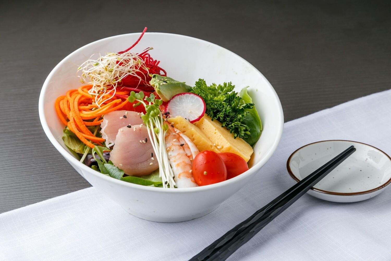 Sashimi Salad (House Dressing)