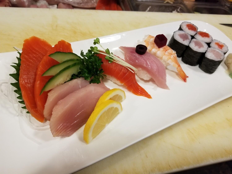 Sashimi Sushi Combo