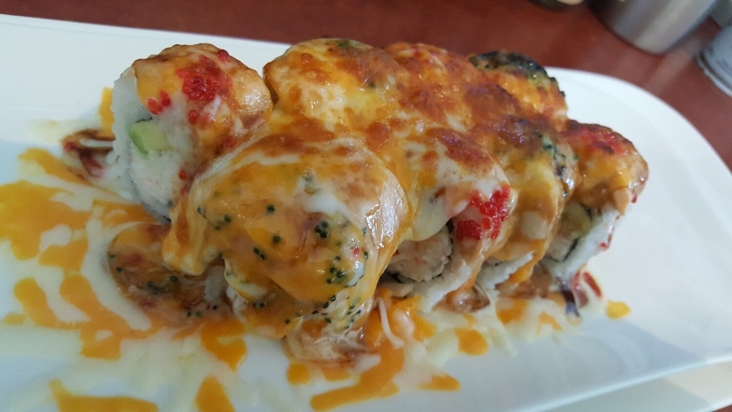 Oven Baked Cheese Monster Roll